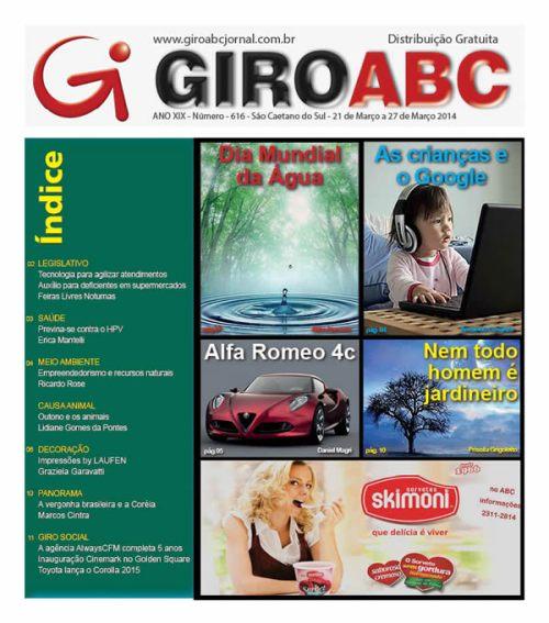 JORNAL GIRO ABC - ED. 616